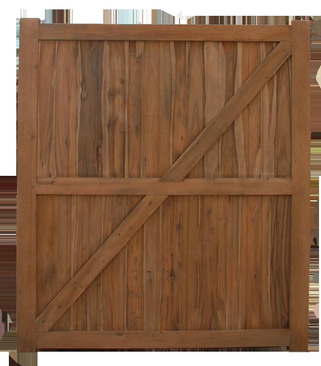 Modele portail bois for Prix portail bois